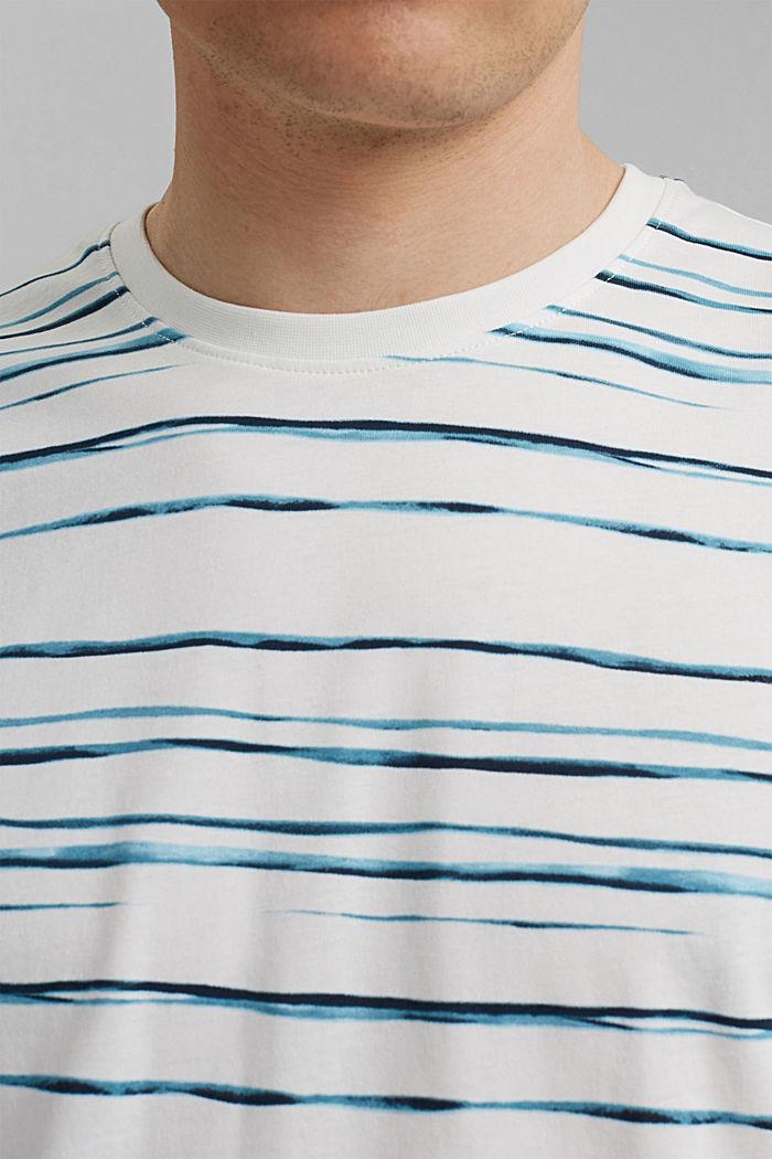Jersey-T-Shirt mit Print, 100% Organic Cotton, OFF WHITE, detail image number 1