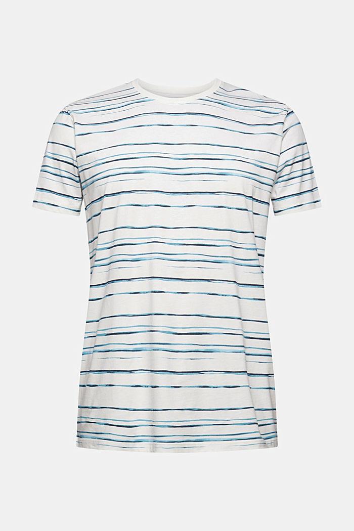 Jersey-T-Shirt mit Print, 100% Organic Cotton