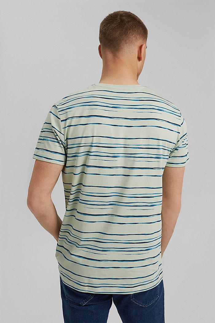camiseta de jersey con estampado, 100 % algodón ecológico, PASTEL GREEN, detail image number 3