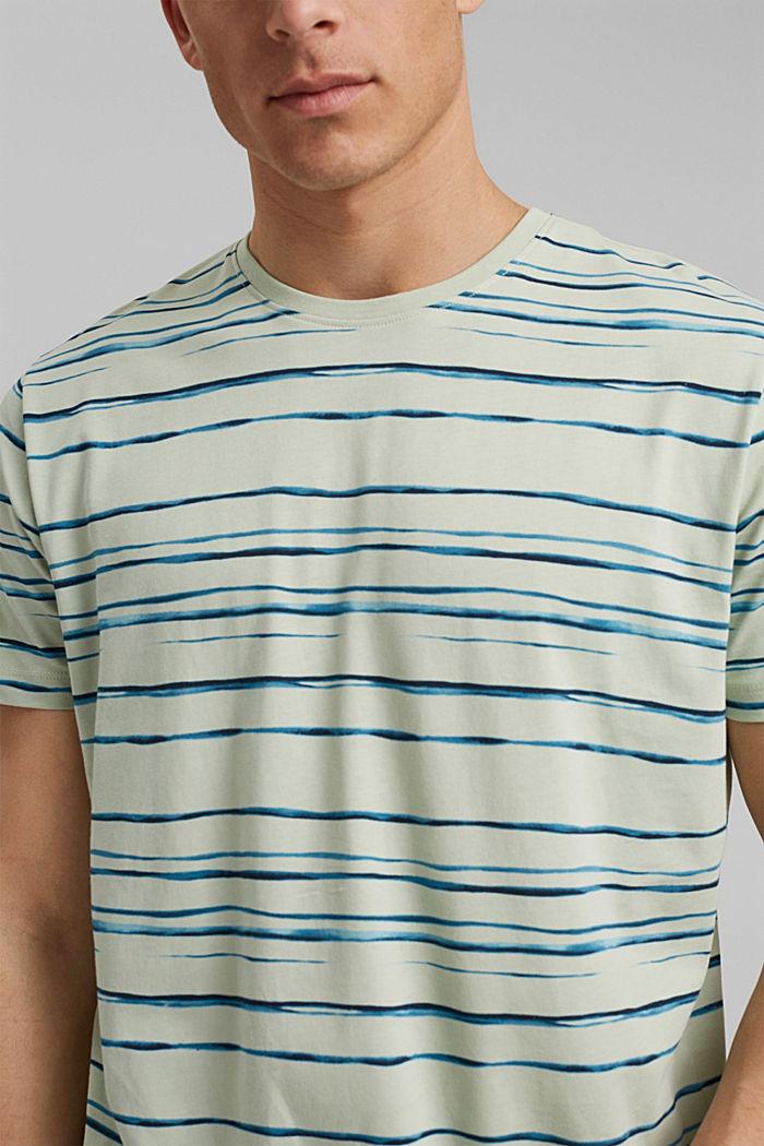 camiseta de jersey con estampado, 100 % algodón ecológico, PASTEL GREEN, detail image number 1