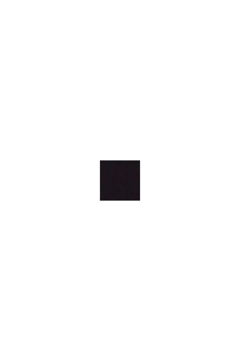 Reciclado: bañador sin relleno con cuello halter, BLACK, swatch