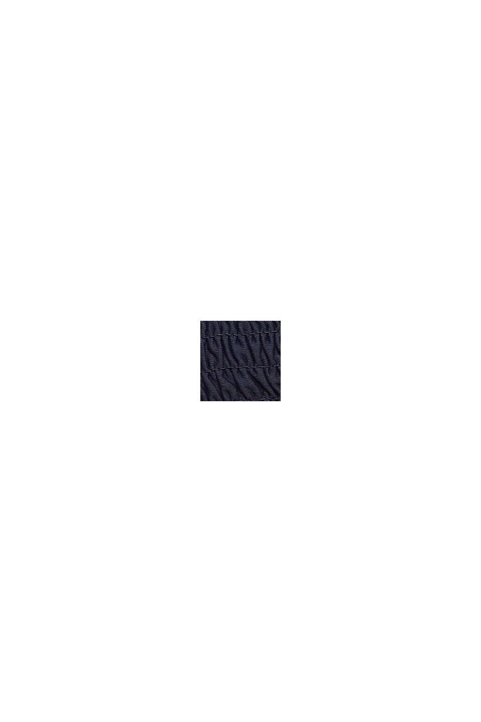 Kierrätettyä: topattu, kolmioyläosa, NAVY, swatch