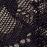 Recycelt: wattierter Bügel-BH mit Spitze, BLACK, swatch