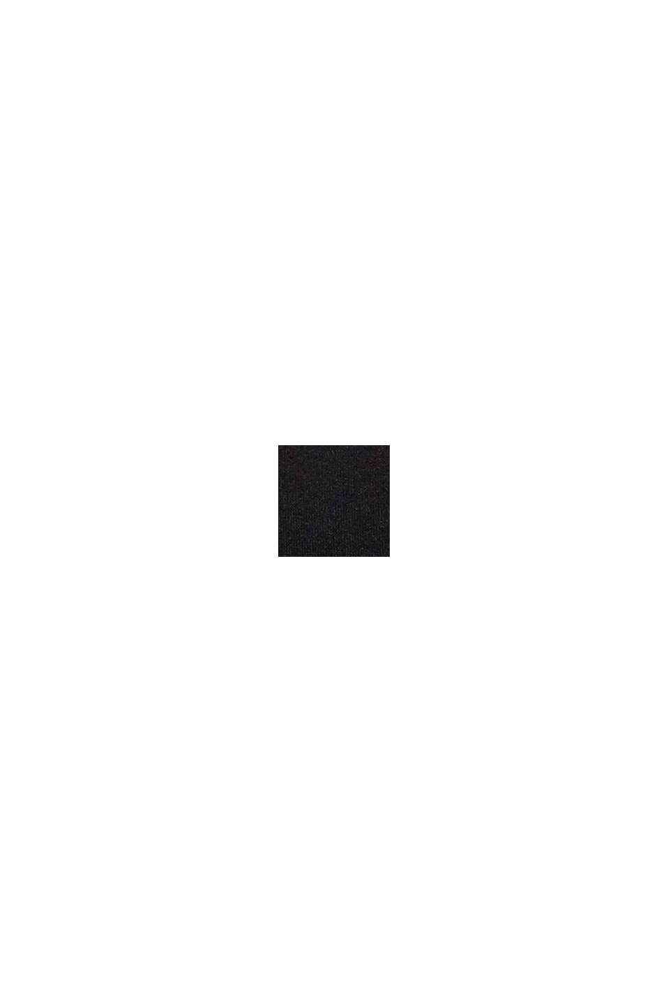 Brassière non rembourrée, presque sans couture, BLACK, swatch
