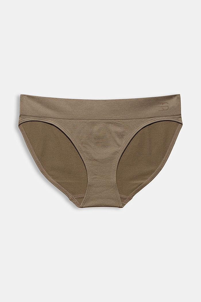 Měkké a pohodlné bokové kalhotky, LIGHT TAUPE, detail image number 4