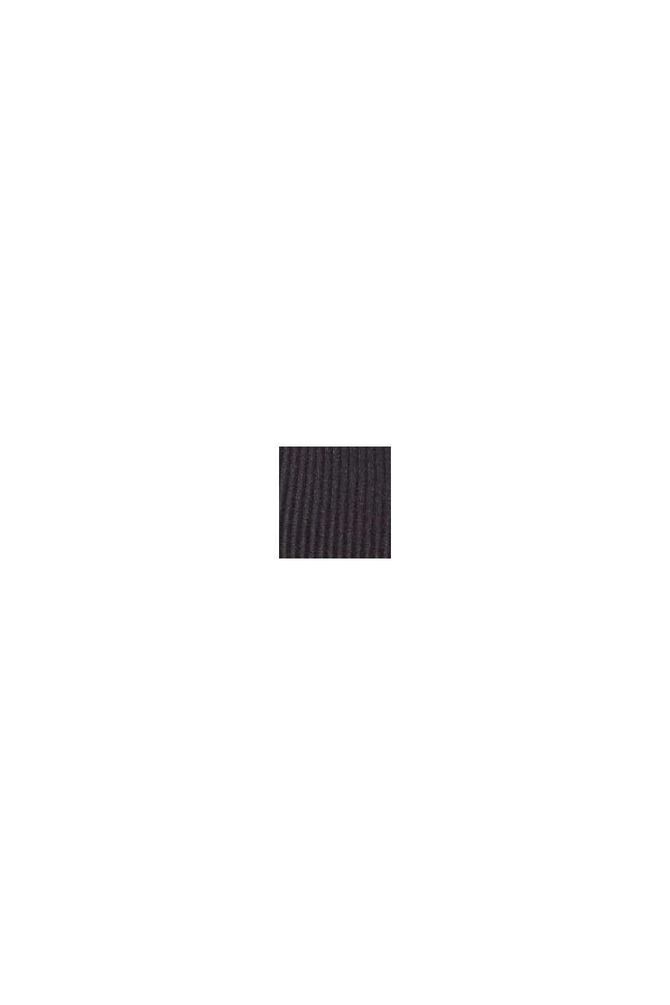 Recycelt: wattierter, bügelloser BH, BLACK, swatch