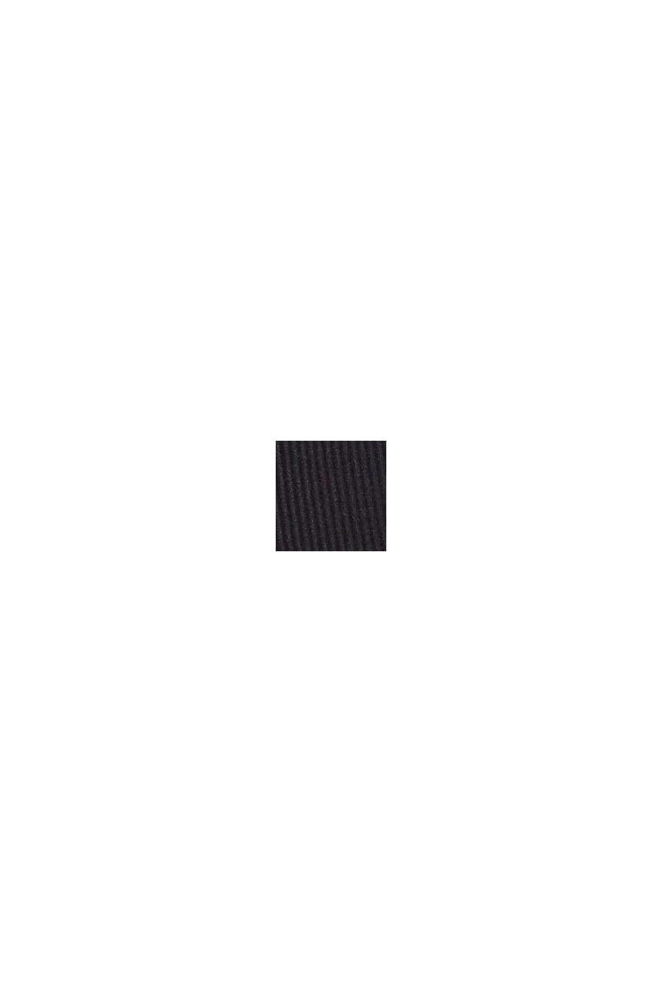 Recycelt: unwattierter, bügelloser BH, BLACK, swatch