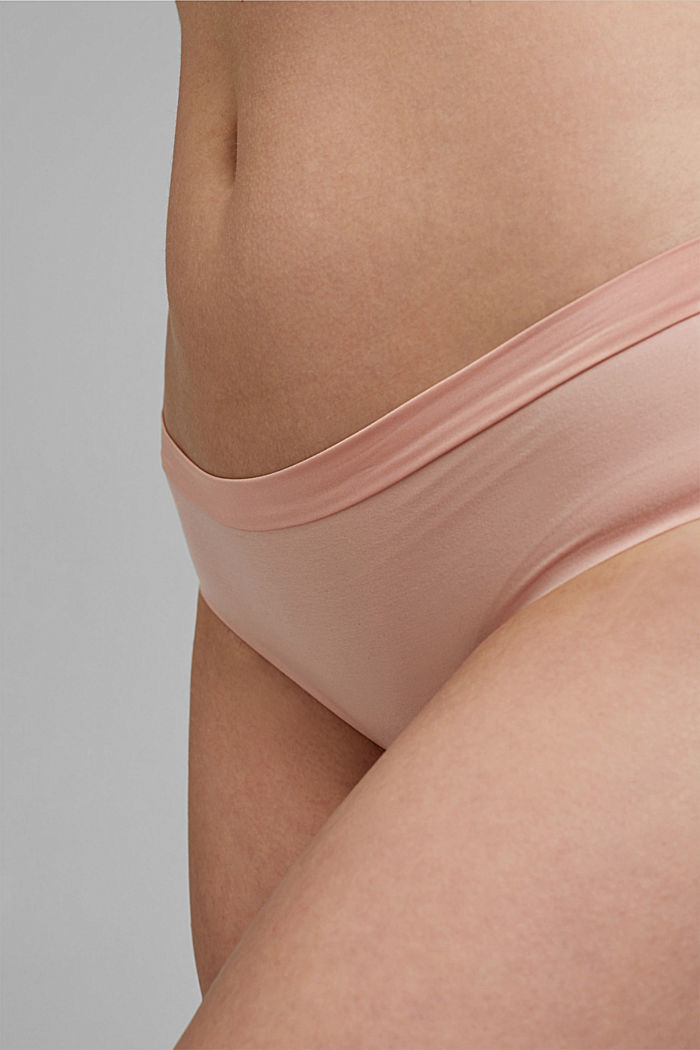 Soft, comfortable hipster shorts, LIGHT PINK, detail image number 1