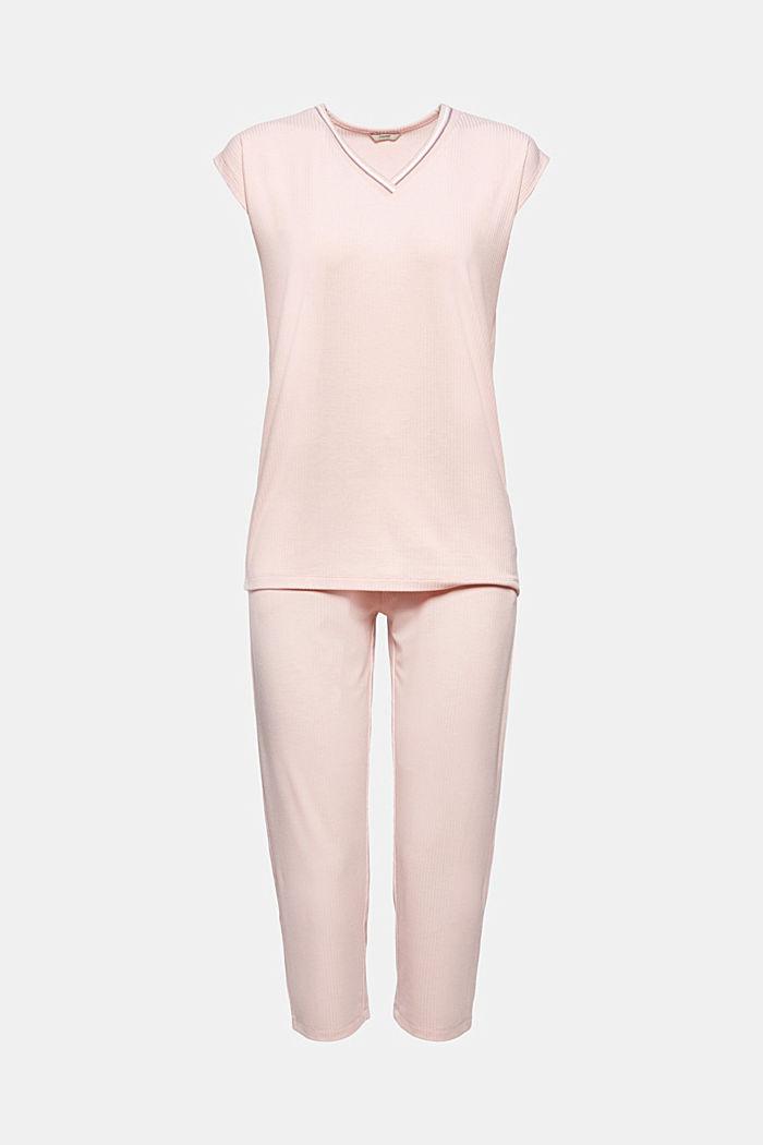 Jersey pyjama met LENZING™ ECOVERO™