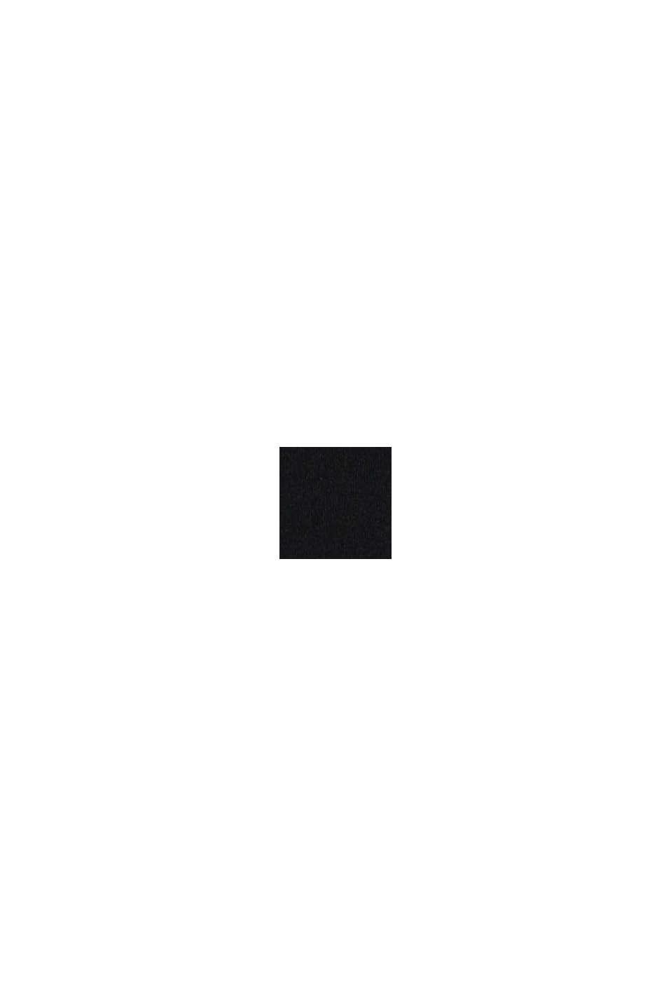 Slip con taglio laser e dettagli del logo, BLACK, swatch