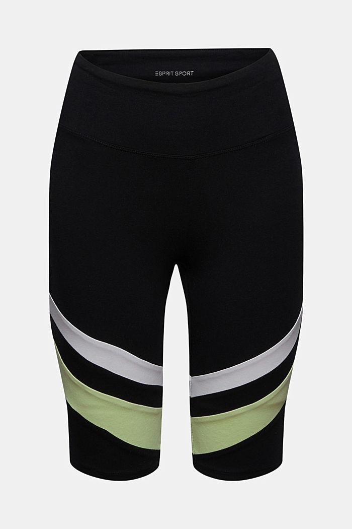 Cyklistické kalhoty s proužky, bio bavlna