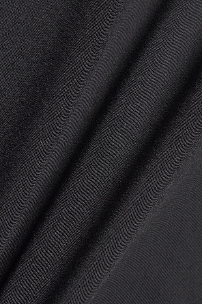 Recycled: TENNIS active skorts with E-DRY, BLACK, detail image number 4