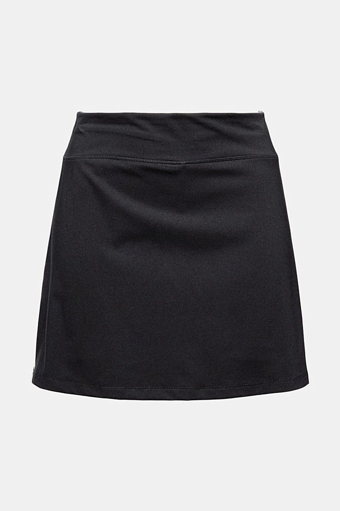 Recycled: TENNIS active skorts with E-DRY, BLACK, detail image number 6