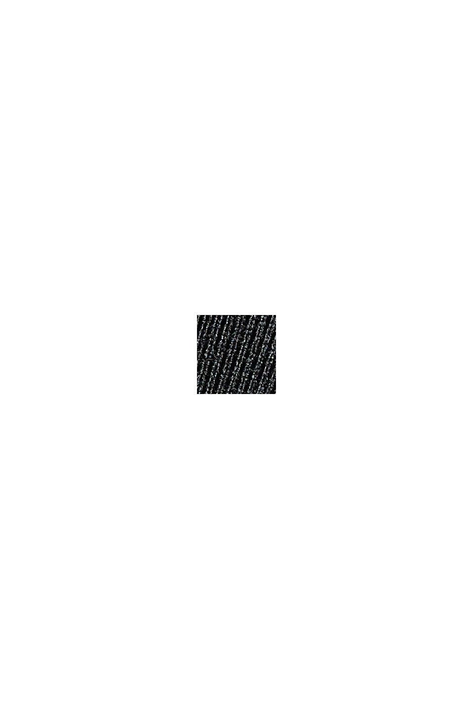 Z recyklovaného materiálu: TENNIS šortky active s úpravou E-DRY, BLACK, swatch
