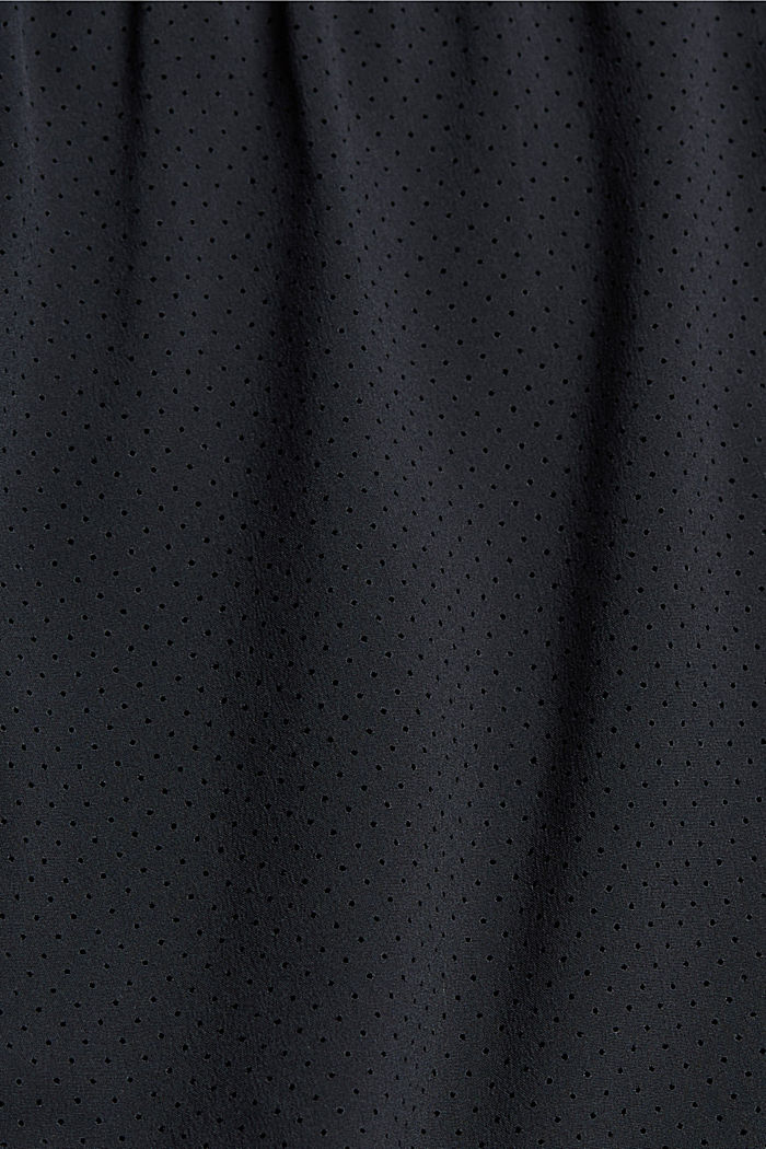 Gerecycled: double layered short, BLACK, detail image number 4