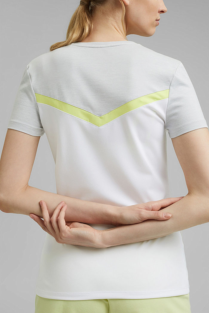 Recycelt: Active-Top mit E-DRY, WHITE, detail image number 2