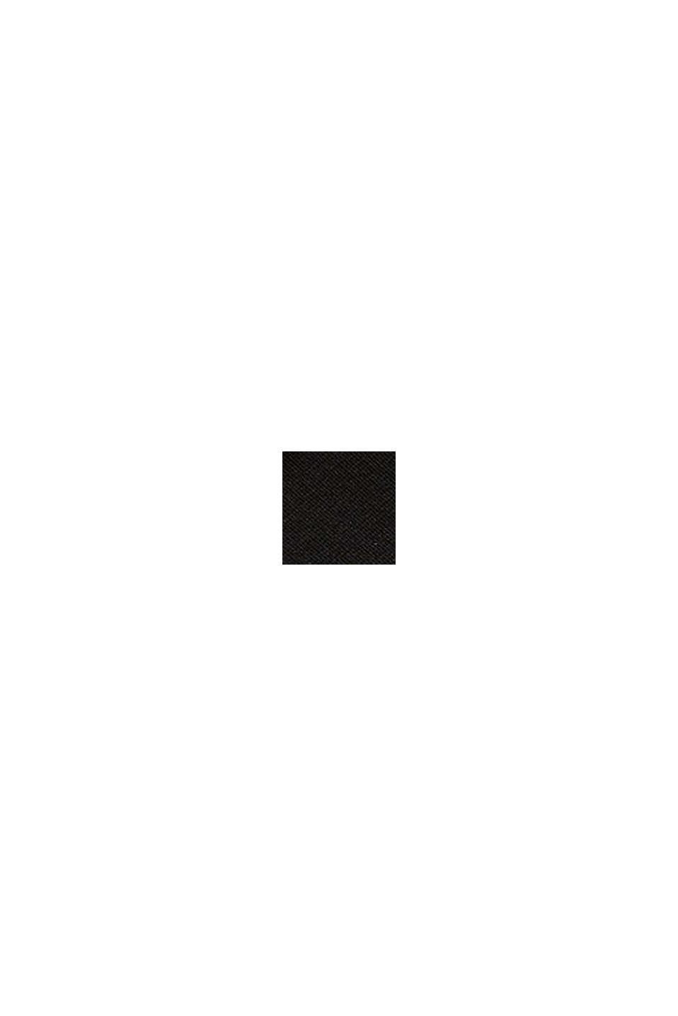 Sandali da trekking con logo, BLACK, swatch