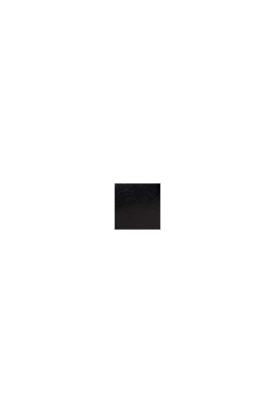 Sandali con cinturino in similpelle, BLACK, swatch