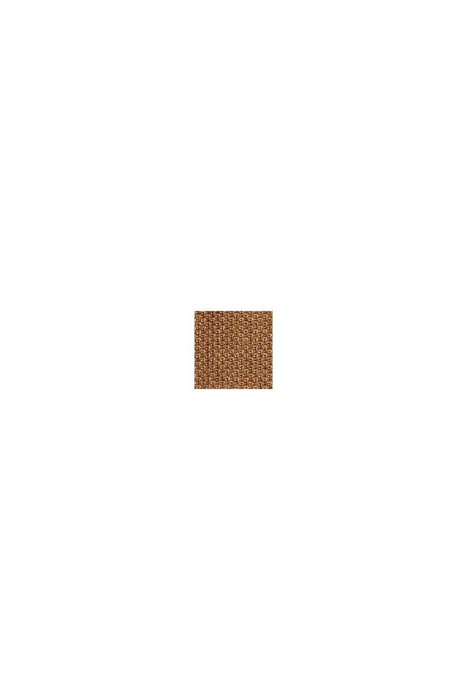 Piquébukser af LENZING™ ECOVERO™, BARK, swatch