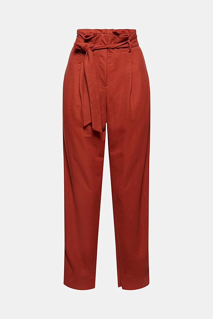 Spodnie z piki z LENZING™ ECOVERO™