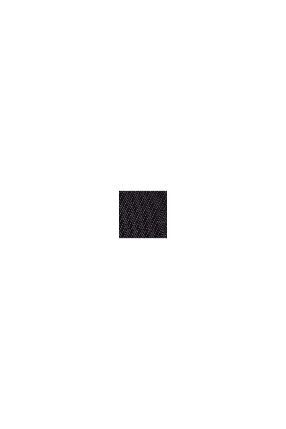 Väljät housut joustavalla vyötäröllä, BLACK, swatch