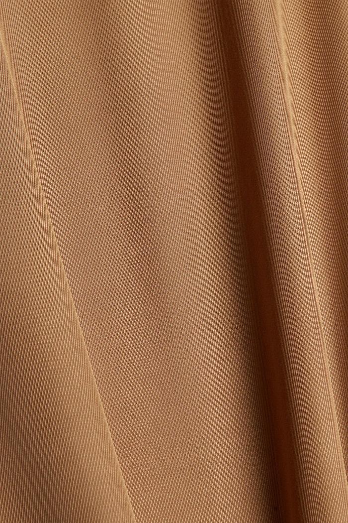 Weite Hose mit elastischem Bund, BARK, detail image number 4