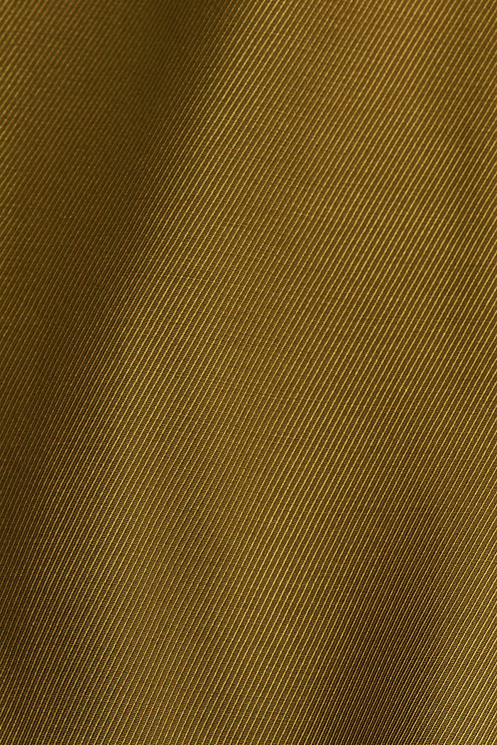 Weite Hose mit elastischem Bund, OLIVE, detail image number 4