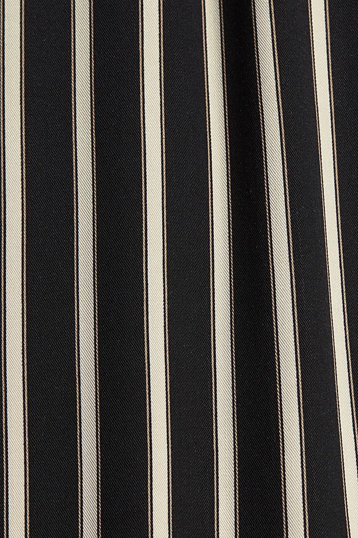 Hose mit weitem Bein, LENZING™ ECOVERO™, BLACK, detail image number 4
