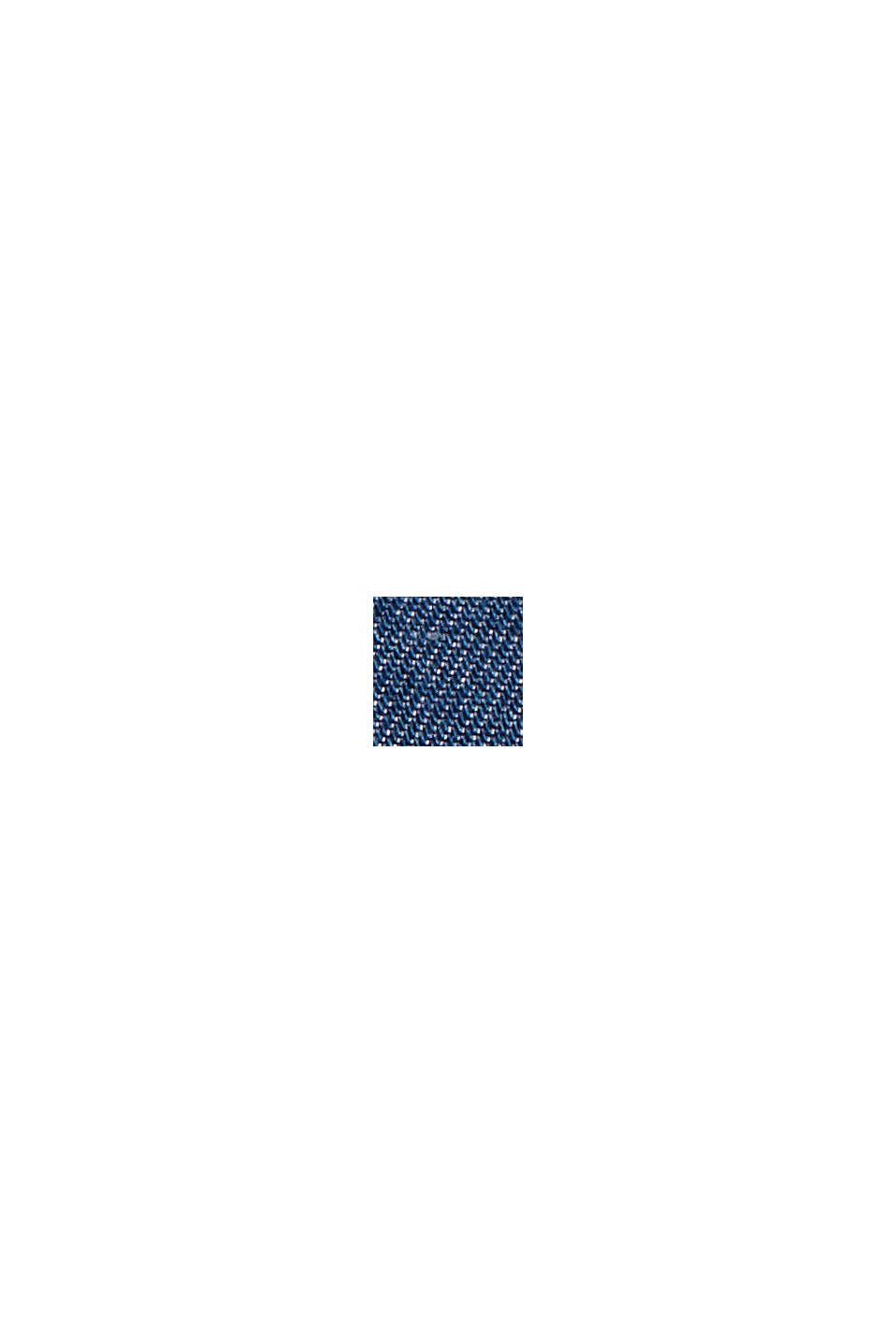 Aus TENCEL™:  Shorts im Denim-Look, BLUE MEDIUM WASHED, swatch