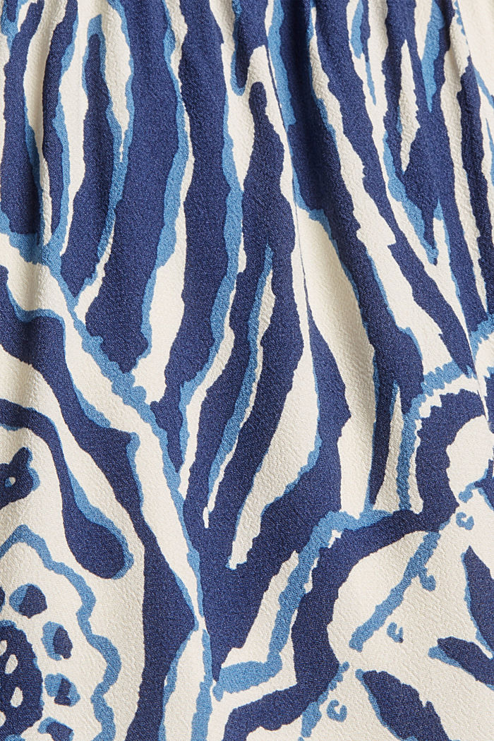 Shirt dress with flounces, OFF WHITE, detail image number 4