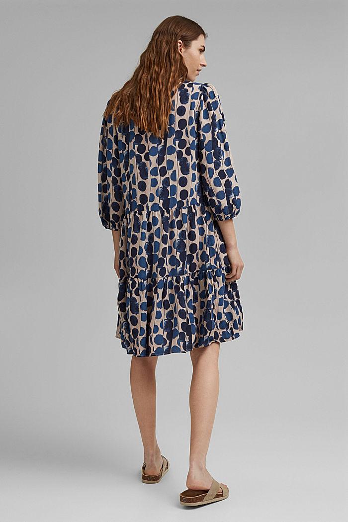 Hemdblusenkleid mit Volants, BRIGHT BLUE, detail image number 2