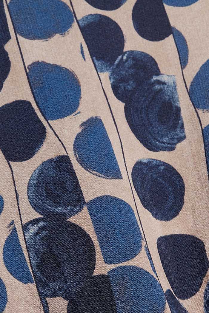 Hemdblusenkleid mit Volants, BRIGHT BLUE, detail image number 4