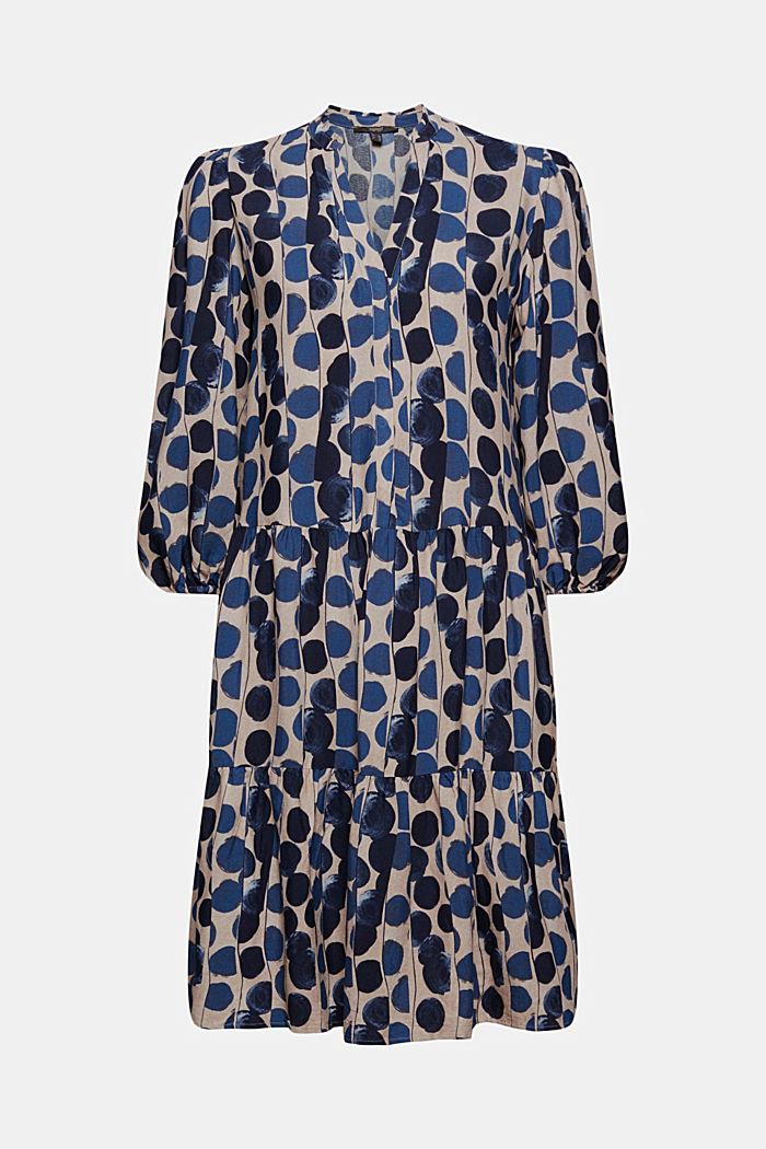 Hemdblusenkleid mit Volants, BRIGHT BLUE, detail image number 7