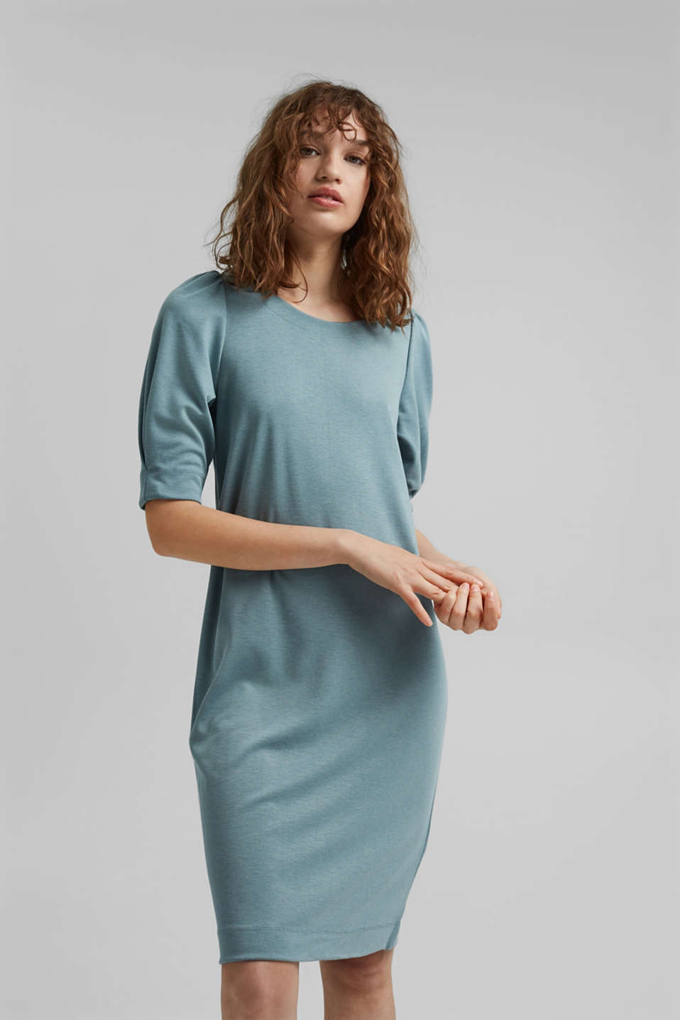 Esprit - puff sleeve dress