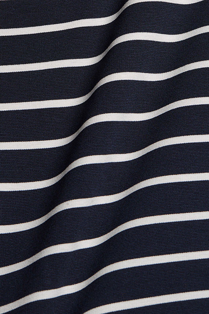 Jerseykleid aus LENZING™ ECOVERO™, NAVY, detail image number 4