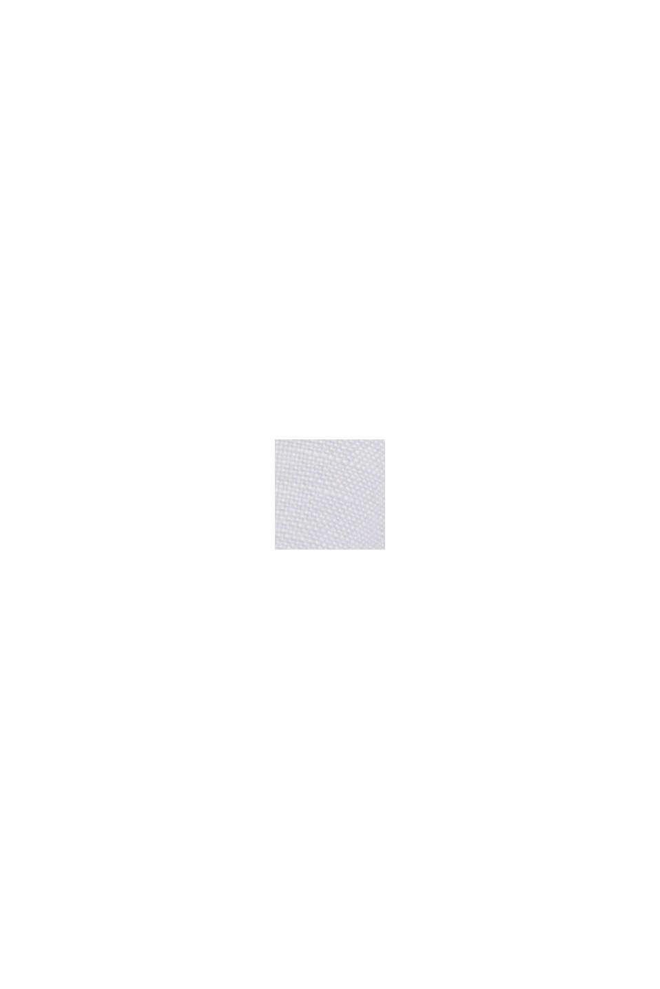 Linen blend: V-neck tunic, WHITE, swatch