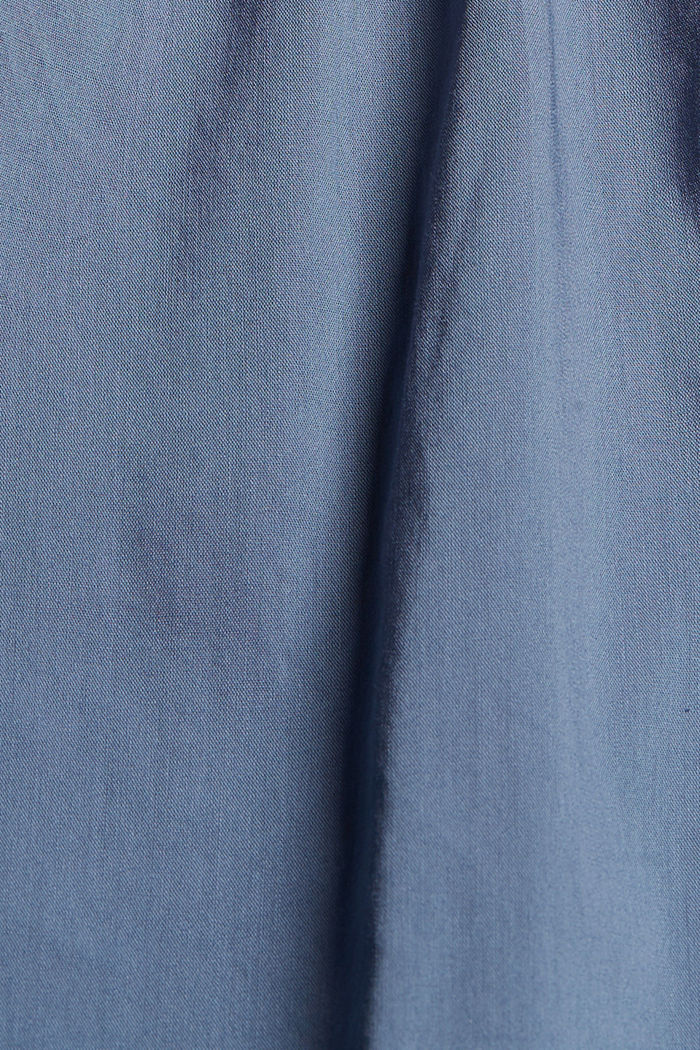 Bluzkowy top z LENZING™ ECOVERO™, GREY BLUE, detail image number 4