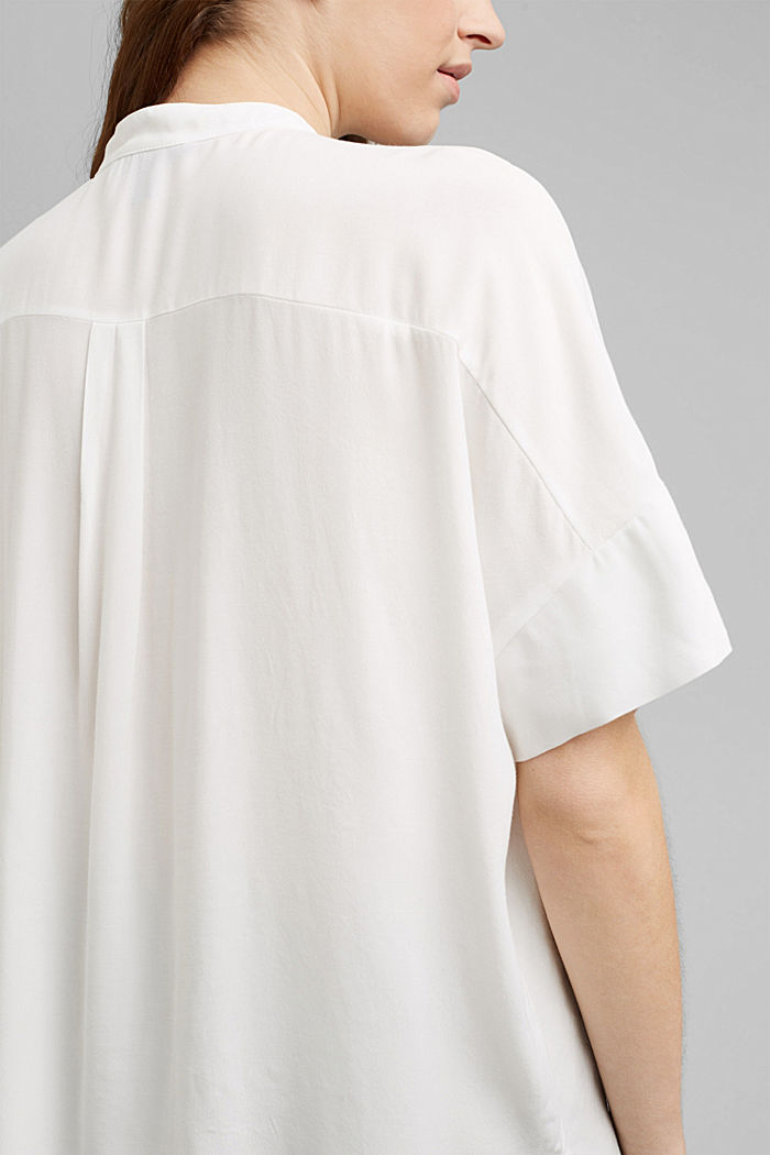 Oversize-pusero, jossa LENZING™ ECOVERO™ -kuitua, OFF WHITE, detail image number 2