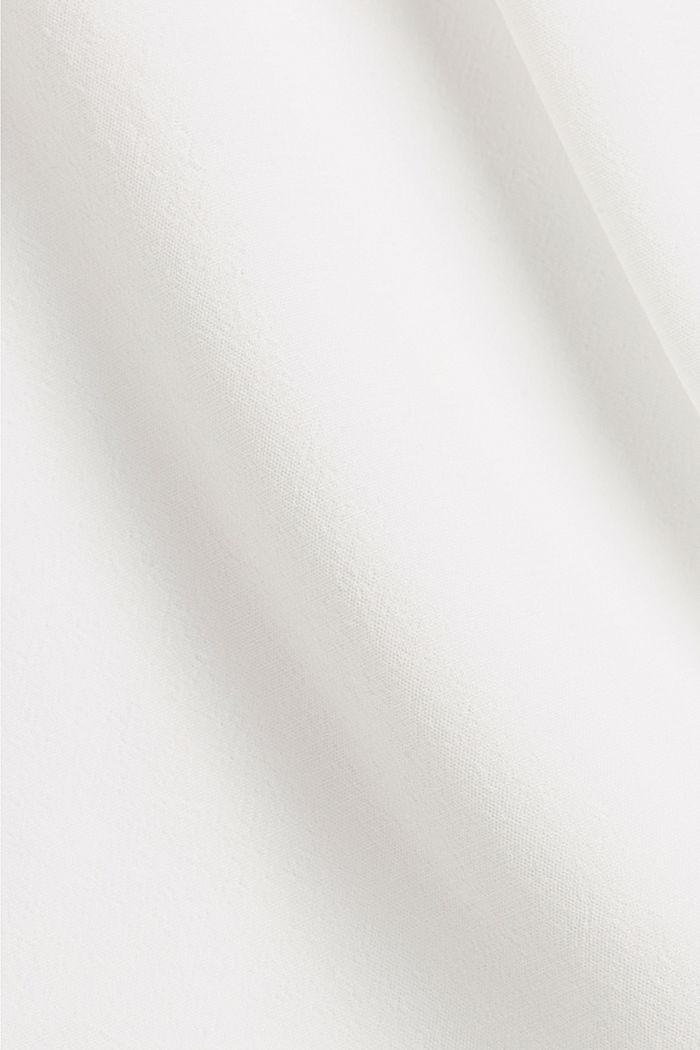 Oversize-pusero, jossa LENZING™ ECOVERO™ -kuitua, OFF WHITE, detail image number 4