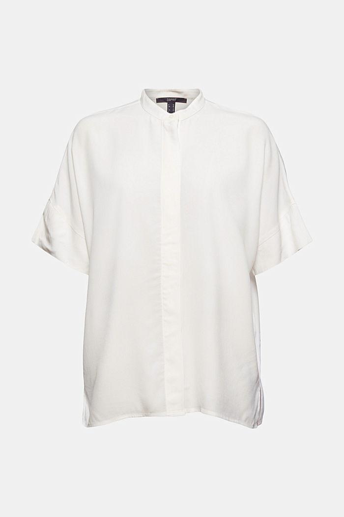 Oversized blouse met LENZING™ ECOVERO™
