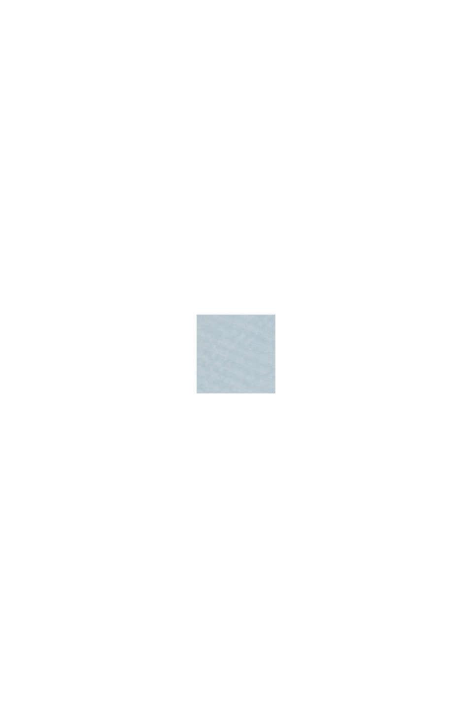 Oversize-Bluse mit LENZING™ ECOVERO™, LIGHT BLUE, swatch