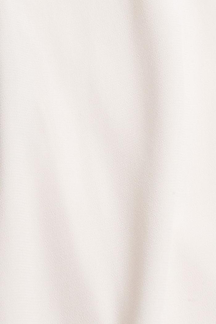 Blusentop aus fließendem Crêpe/Jersey, LIGHT PINK, detail image number 4