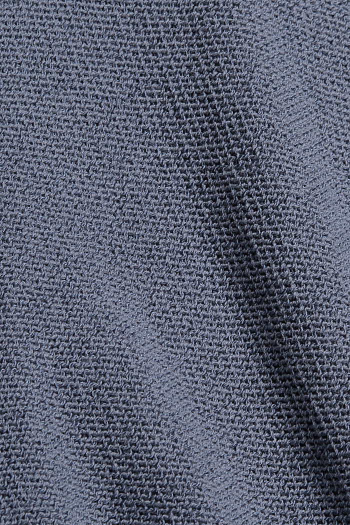 Cardigan mit Kordelzug, GREY BLUE, detail image number 4