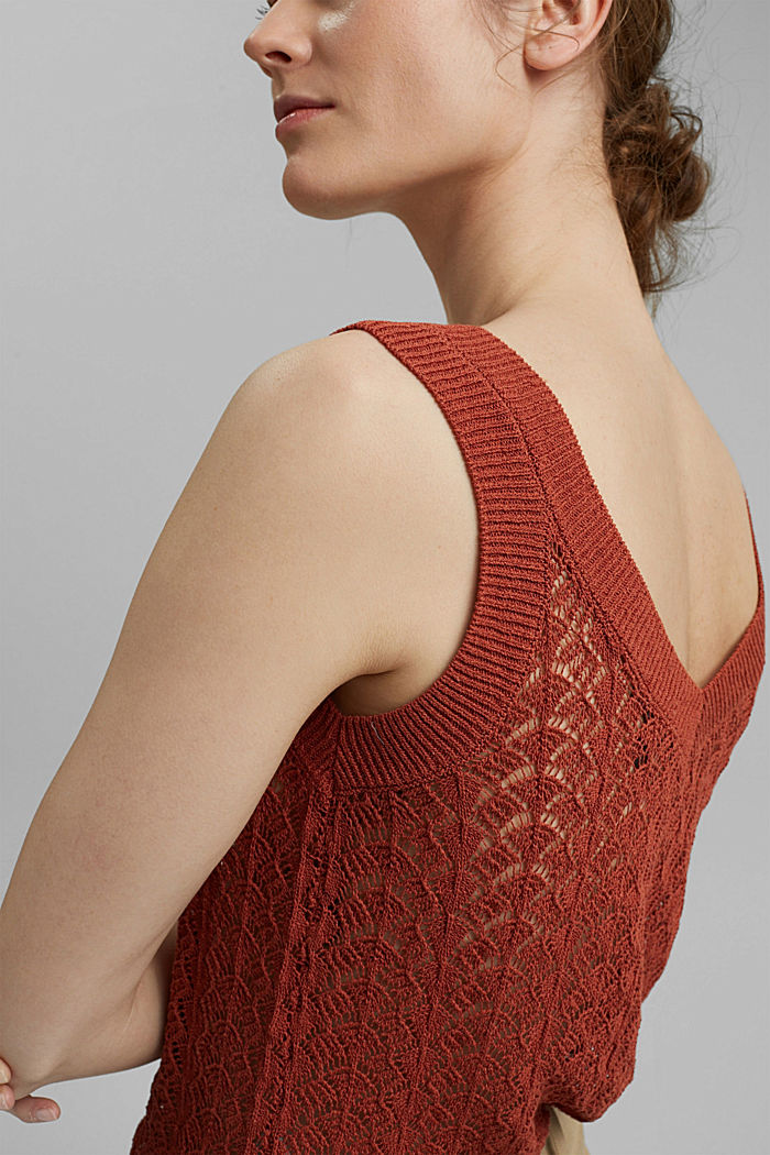 Sweaters, TERRACOTTA, detail image number 2