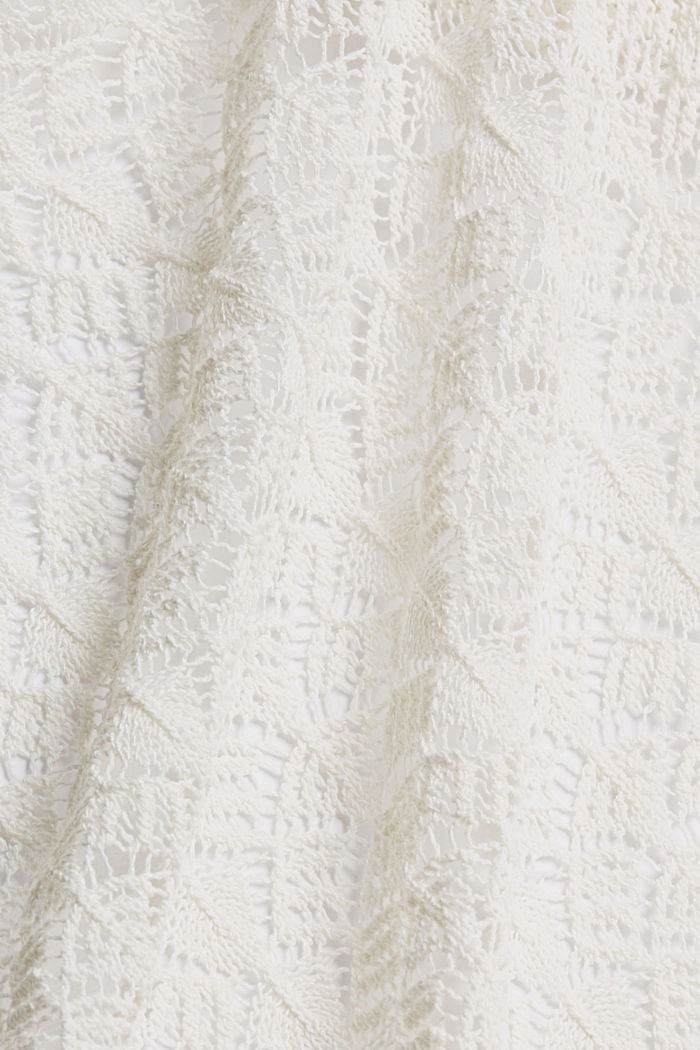 Sweaters cardigan, OFF WHITE, detail image number 4