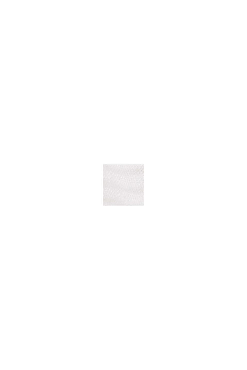Haut en jersey à motif dévoré, OFF WHITE, swatch
