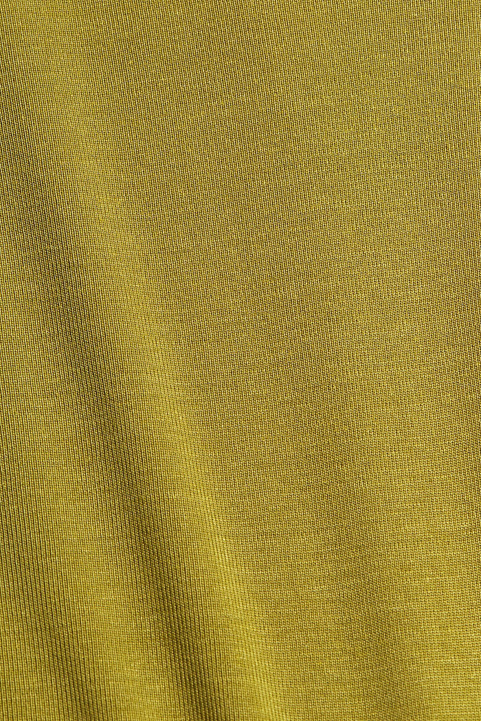 Knitted top made of TENCEL™ lyocell, OLIVE, detail image number 4
