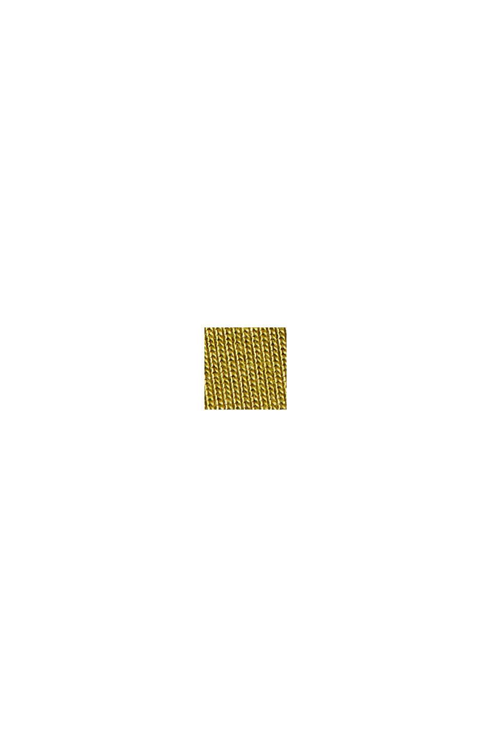 Gebreide top van TENCEL™ lyocell, OLIVE, swatch