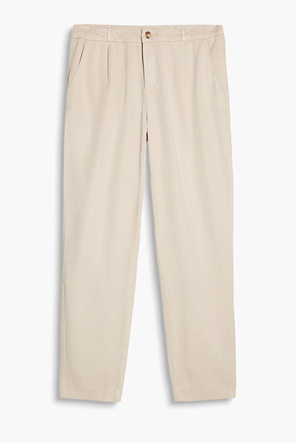Essential: mega comfy chinos made of fluid fabric