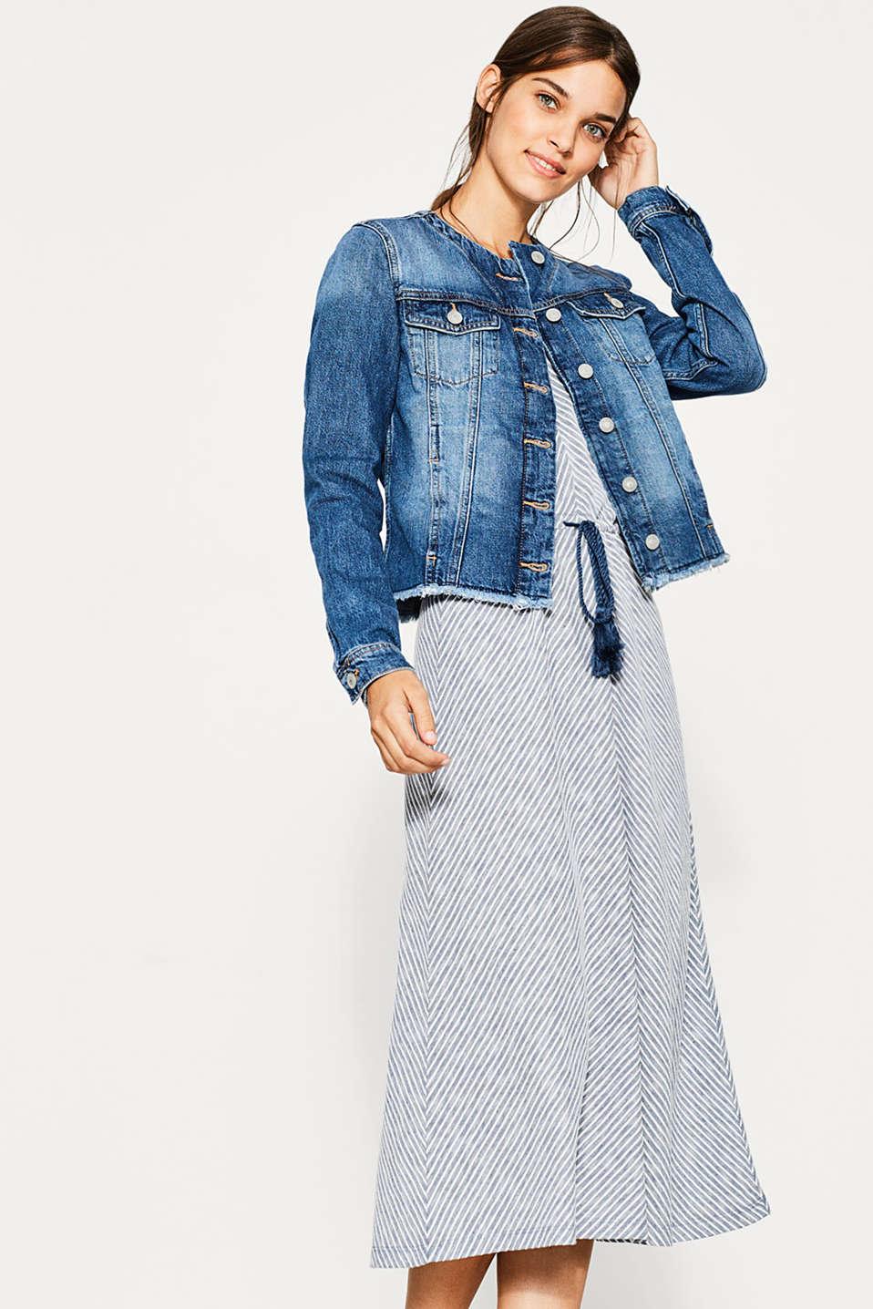 edc jeans jacke aus 100 baumwolle im online shop kaufen. Black Bedroom Furniture Sets. Home Design Ideas
